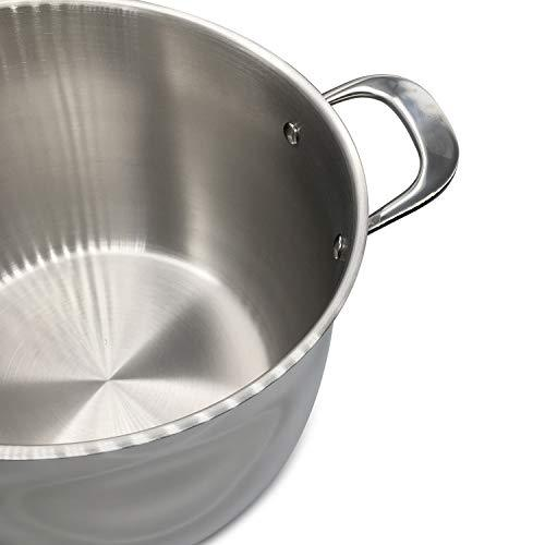 Fortune Candy 10-Quart Pasta Pot with Strainer Insert, 18/8 Stainless Steel - Fortune Candy