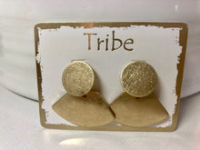 Load image into Gallery viewer, Tribe Brushed Metal Earrings