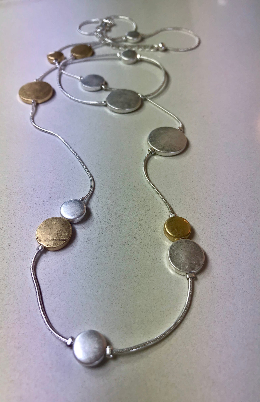 Jantan Jewellery Disk Necklace