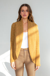 LD and Co - Cardigan mustard