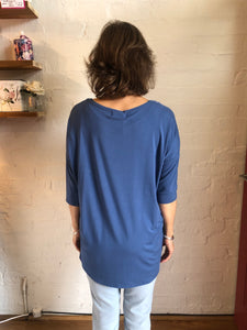 Whispers Bamboo-Slouch Top