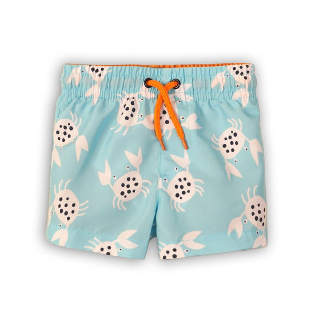 Boys Crab Swim Board Shorts