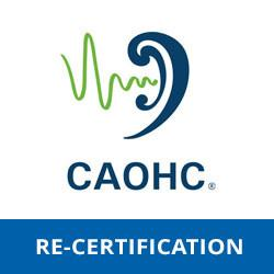 CAOHC Re-Certification | November 1, 2018 | Asheville, NC