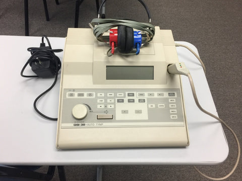 Used GSI-38 V3 Audiometer and Tympanometer