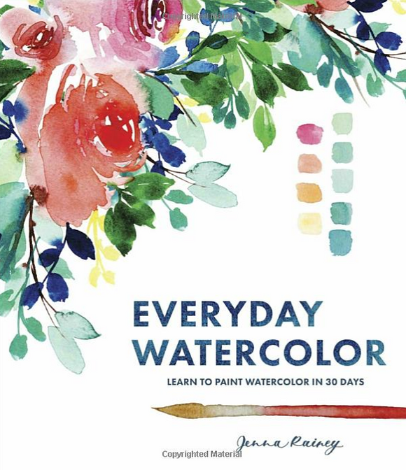 Libro Everyday Watercolor (Acuarela paso a paso)