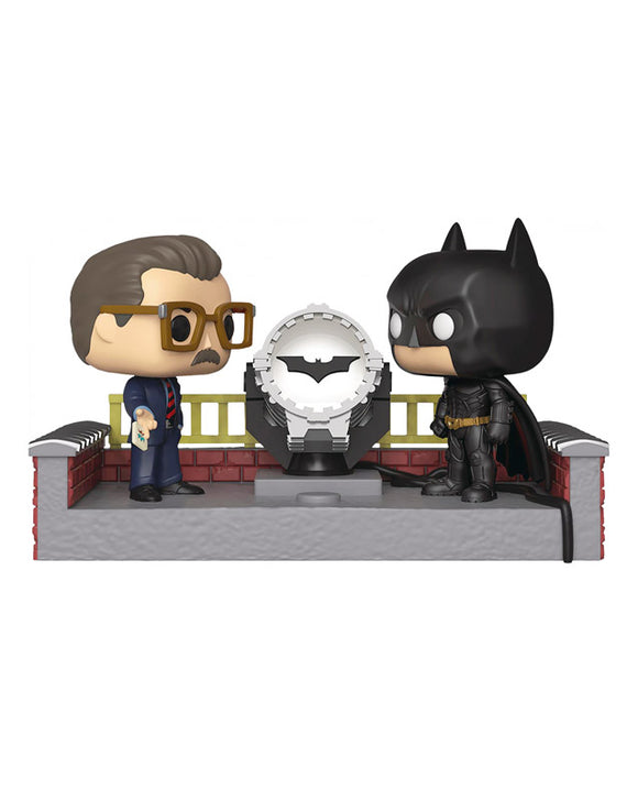 Funko Pop! DC - Batman and commissioner Gordon #280 Movie Moments