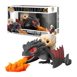 Funko Pop! Game Of Thrones - Daenerys & Fiery Drogon #68 Movie Moments