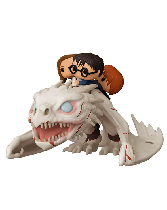 Funko Pop! Harry Potter - Harry, Hermione & Ron ridding Gringotts Dragon #93