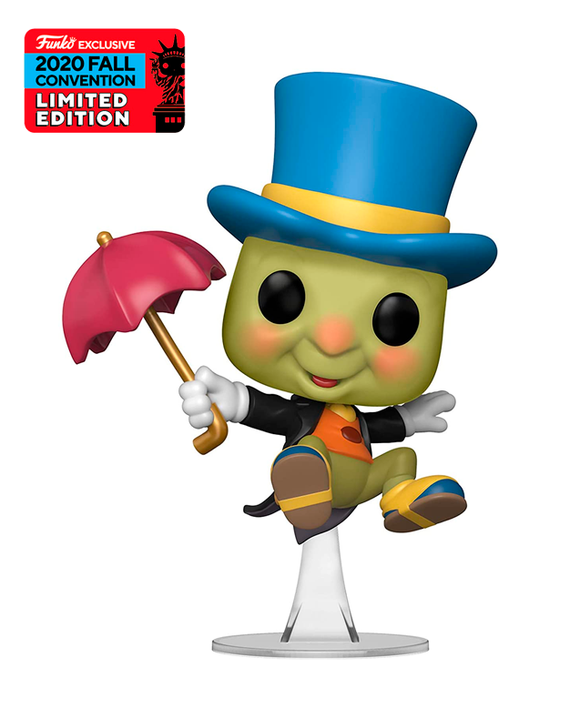 Funko Pop! Disney - Jiminy Cricket #980 - Fall Convention Exclusive