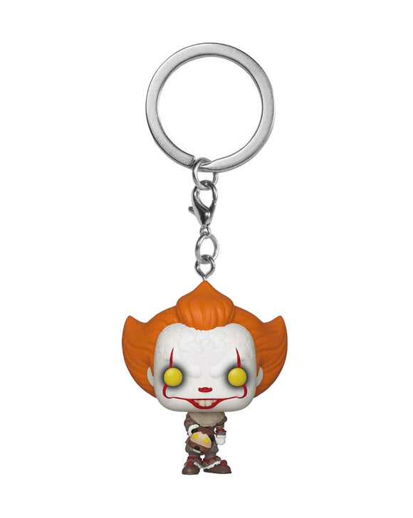 Pocket Pop! Keychain - Horror - Pennywise with Beaver hat