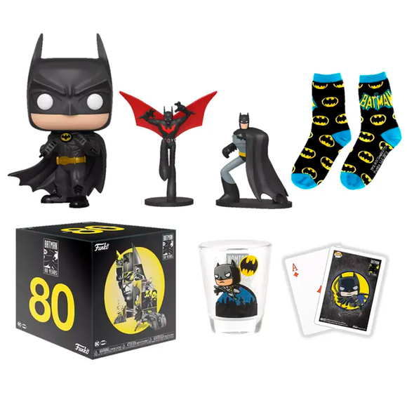 Funko Box Batman 80th Anniversary Exclusive