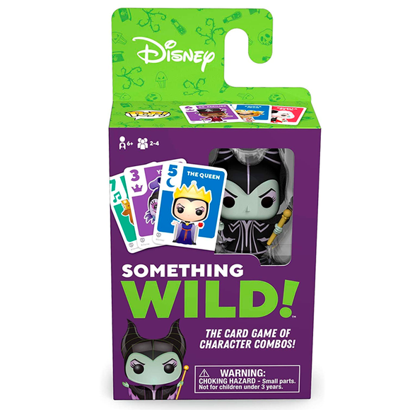 Juego Something Wild Funko! Disney - Villains