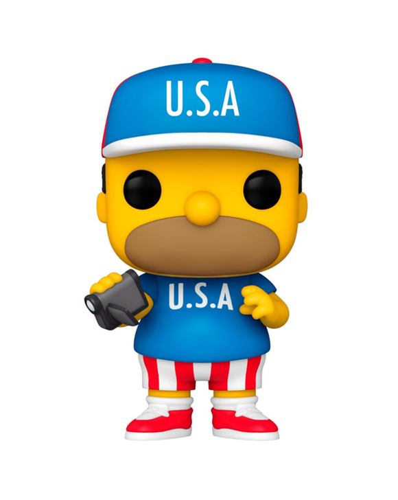 Funko Pop! The Simpsons - U.S.A. Homer #905