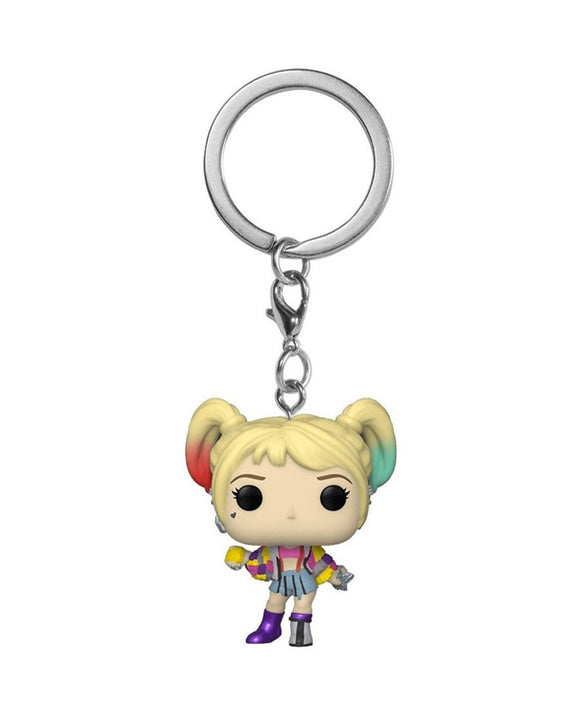 Pocket Pop! Keychain - DC - Harley Quinn Caution Tape
