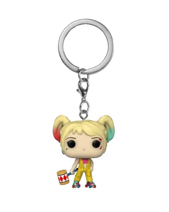 Pocket Pop! Keychain - DC - Harley Quinn Boobytrap Battle