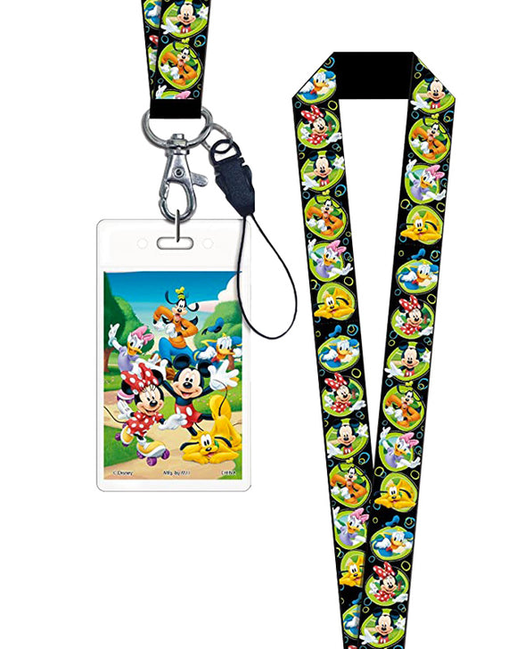 Lanyard Disney - Mickey Mouse & friends