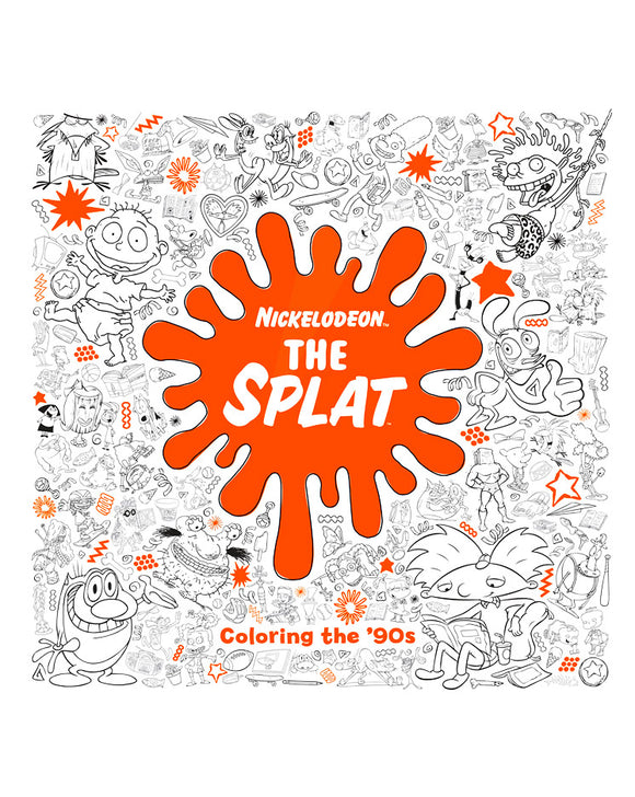 Libro para colorear Nickelodeon - The Splat