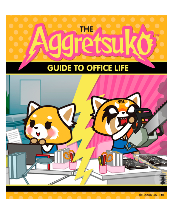 Libro Aggretsuko Guide to Office Life