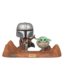 Funko Pop! Star Wars - The Mandalorian With Child #390