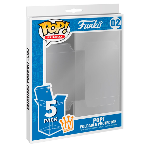 Pack x5 Protectores Funko Pop!