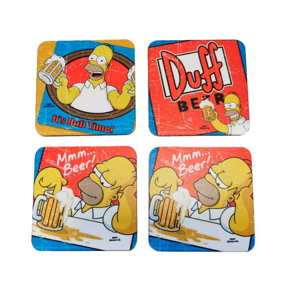 Pack Posavasos The Simpsons