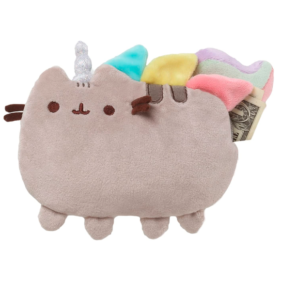 Monedero Pusheen Unicornio peluche