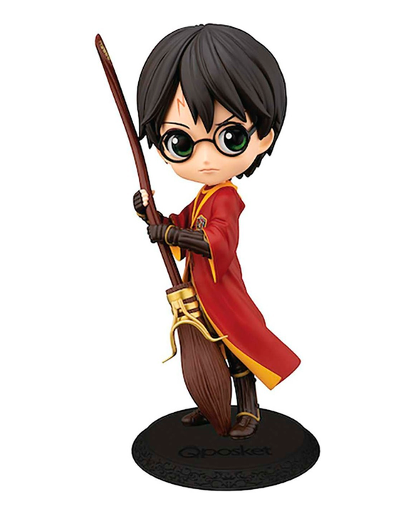 Banpresto Qposket Harry Potter Quidditch with broom