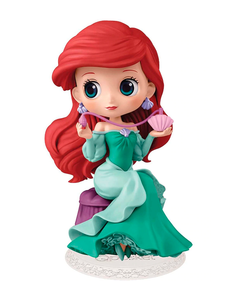 Banpresto Qposket Disney - Ariel green gown