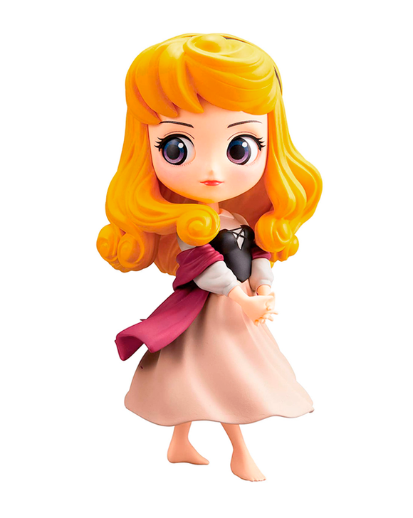 Banpresto Qposket Disney Aurora housemaid dress