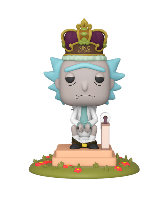 Funko Pop! Deluxe TV - Rick & Morty - King of S$%!T #694