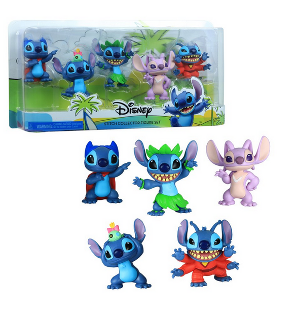 Set de Figuras Disney Lilo & Stitch