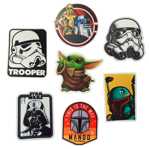 Pack Sticker x7 Star Wars