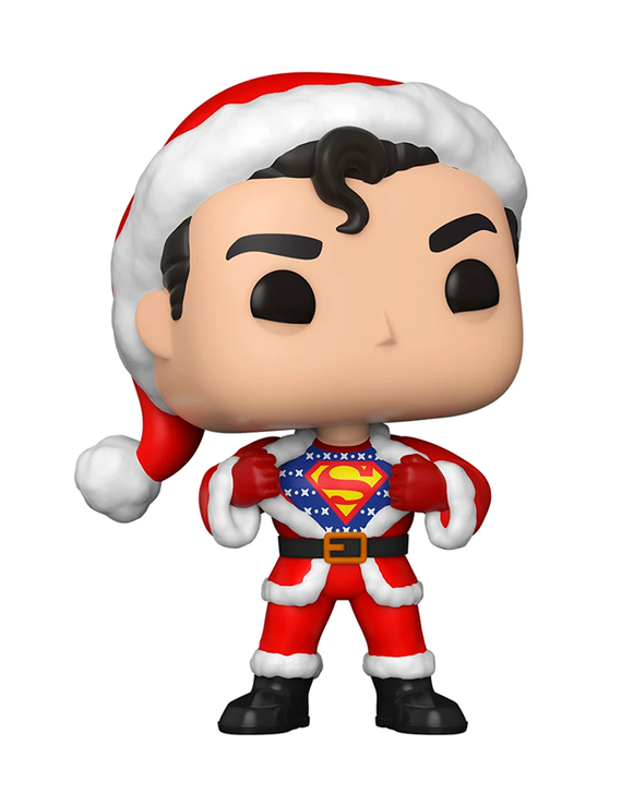 Funko Pop! DC - Superman holiday with Sweater #353