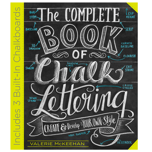 Libro The Complete Book of Chalk Lettering