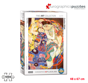 Rompecabezas Eurographics 1000 Piezas - The Virgin (Klimt)