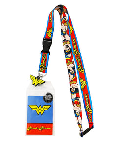 Lanyard DC - Wonder Woman