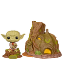 Funko Pop! Star Wars - Dagobah Yoda with Hut #11