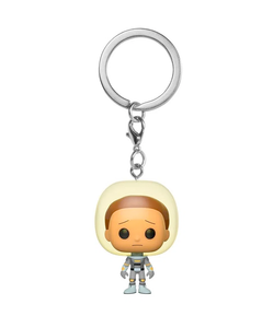 Pocket Pop! Keychain - Rick & Morty -Space Suit Morty
