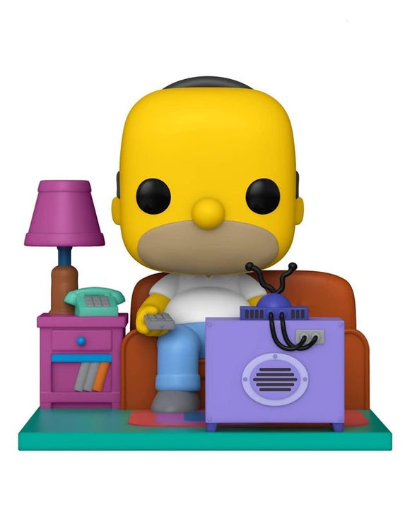 Funko Pop! The Simpsons - Couch Homer #909 Deluxe