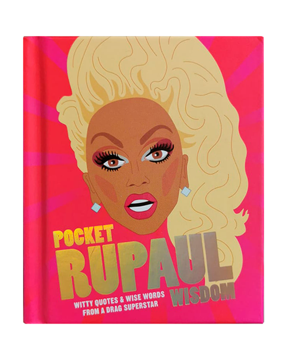 Libro Pocket RuPaul Wisdom: Witty quotes and wise words from a drag superstar