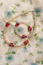 Load image into Gallery viewer, Vegan Strawberry Necklace