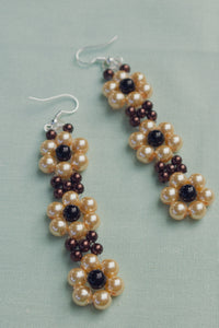 Autumn Daisy Earrings