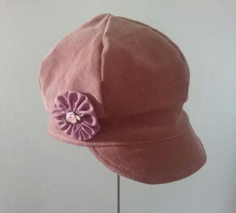 Girl newsboy hat