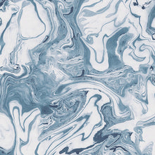 Load image into Gallery viewer, Face Masks in Marble - Sea Blue  (pack of 12)