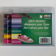 Load image into Gallery viewer, A set of 6 non-washable fabric markers