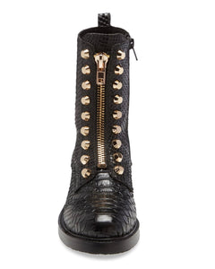 Tonett Black Snake by Jeffrey Campbell