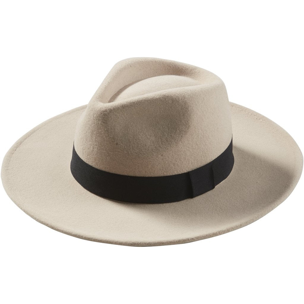 Hilary Wool Panama Hat by Tickled Pink