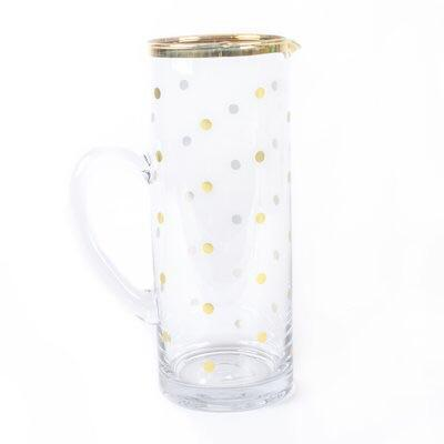 Glass Pitcher by 8 Oak Lane