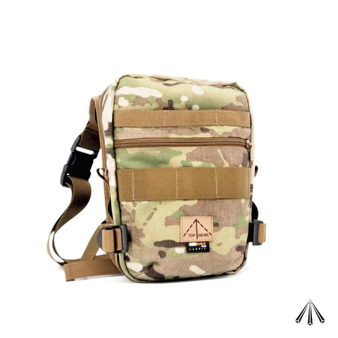 TOP GEAR #1550 戰術斜揹袋 TACTICAL MOLLE THIGH/SHOULDER POUCH
