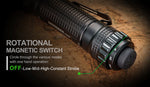 NEXTORCH TA15 Multi-Battery Tactical Flashlight